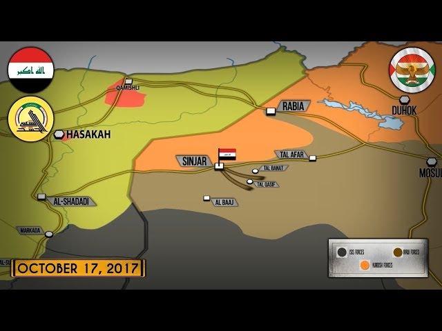 17 октября 2017. Военная обстановка в Сирии и Ираке. США воздержались от поддержки к...