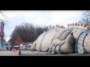 Внутри 50 метрового дракона