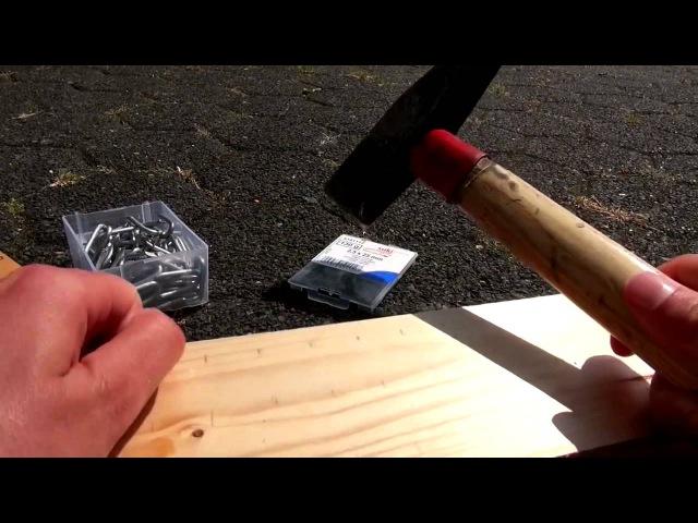 Делаем ткацкий станок в домашних условиях своими руками Loom Rainbow Loom Board