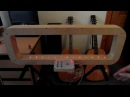 14-Note Framed Midi Laser Harp - Arduino Powered (velocity sensitive)