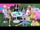 Мультик Барби Авария Зарядка на пикнике в Автодомике Куклы для девочек Dolls ♥ Barbie