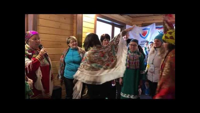 Хантыйское творчество на фестивале национальных культур
