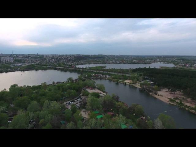 Харьков с высоты в 4k Журавлевка