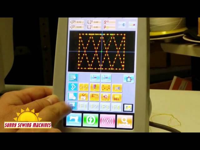 JACK JK-T1900-BLX Electronic Tacker Programming Session