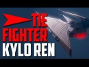 Tie Fighter Kylo Ren LEGO How to build review