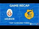 Highlights: Galatasaray Odeabank Istanbul - Herbalife Gran Canaria