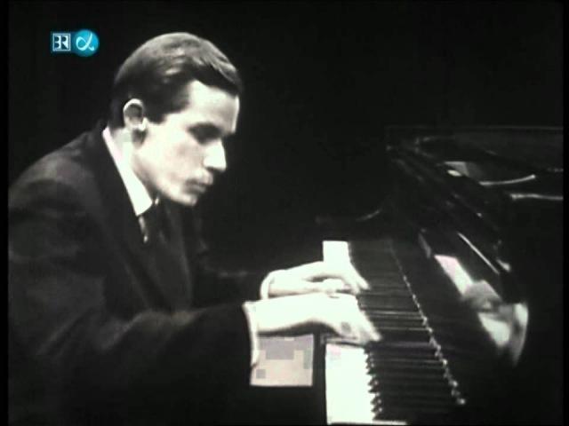 Glenn Gould Hindemith Piano Sonata No 3 Fugue HD