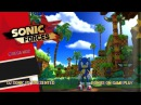 Sonic Forces - Green Hill Zone Sega 2017 Gameplay