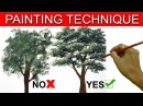 Do's and Don't on Painting a Tree in Acrylic by JM Lisondra