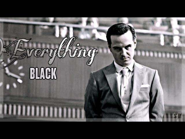 ❤Jim Moriarty || Everything Black❤