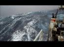 Северный шторм Судно на промысле.Northern ship in the field.