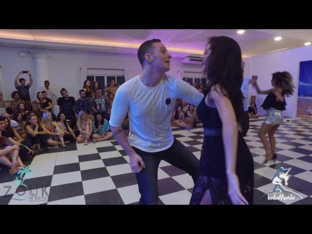 Baila Mundo Brenda e Bruno X Dadinho e Evellyn Zouk'n Beach 2017
