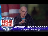 An 81-year old Crushes American Ninja Warrior Course