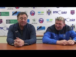 Пресс-конференция О.Чубинского и С. Ломанова