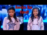 Angelica Hale &amp Celine Tam The Results SEMI-FINALS #AGT 2017- Who's Going Through To The FINALS