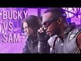 Sam Wilson vs Bucky Barnes Can Can