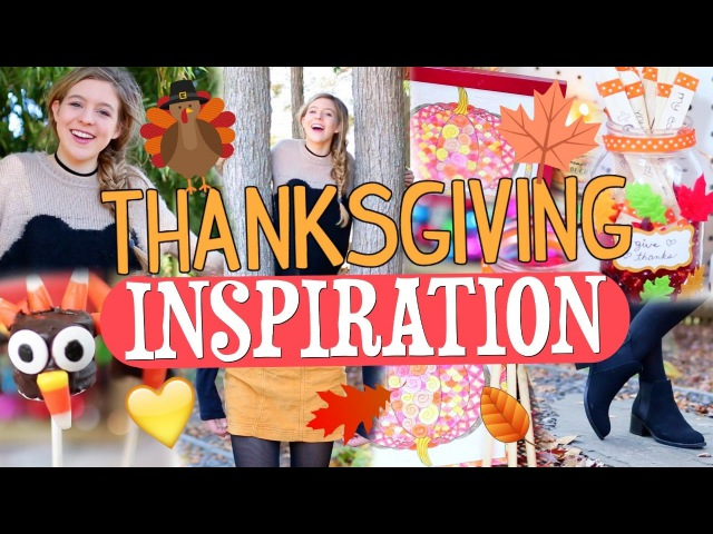 How to Have the BEST Thanksgiving!! | DIY Crafts, Treat, and Outfit Ideas!!