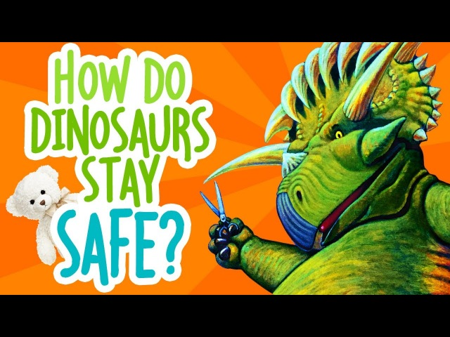 How Do Dinosaurs Stay Safe by Jane Yolen | Childrens Book Read Aloud | Storytime With Ms. Becky