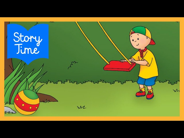 TOP 10 Books for Kids | Caillou: My Imaginary Friend