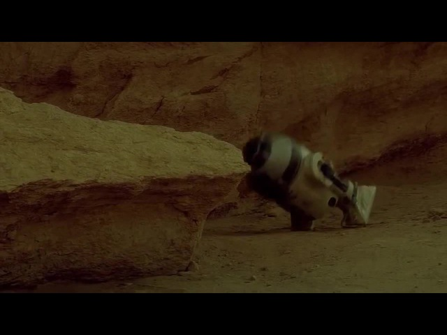 Deleted R2D2 scene from Star Wars Episode IV: A New Hope coub