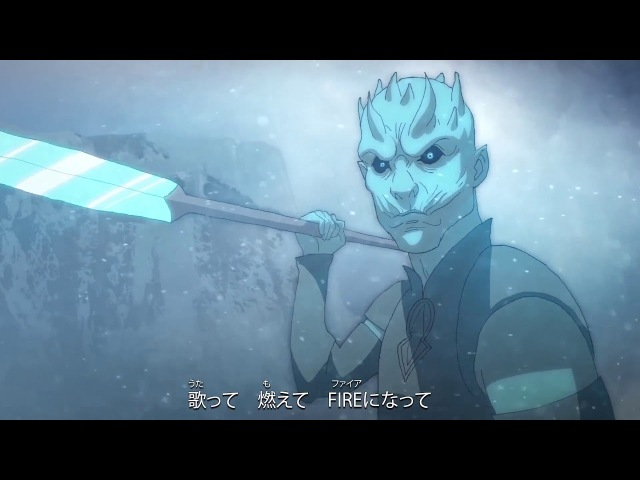 Game Of Thrones intro as an anime opening
