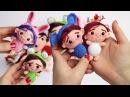 Amigurumi llavero muñecas pequeñas chibi, patrón paso a paso