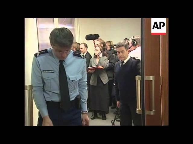 Former French army officer jailed for passing secrets to Serbs.