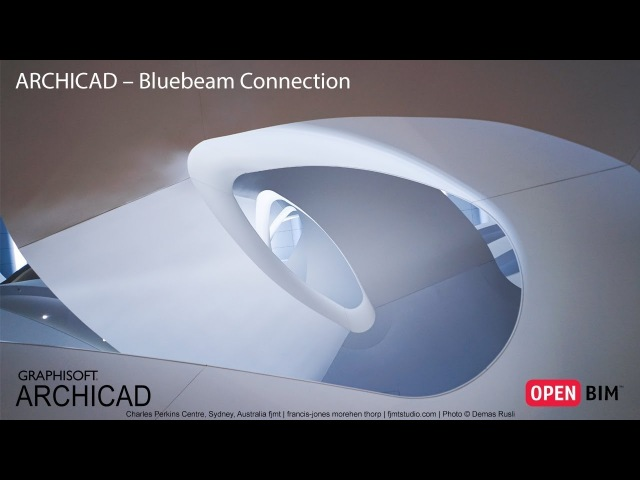 ARCHICAD – Bluebeam Connection