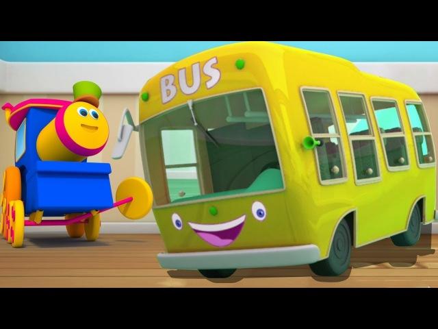 Die Räder auf dem Bus | Kinderlied auf Deutsch | Buslied für Kinder | Wheels On The bus | Baby Song