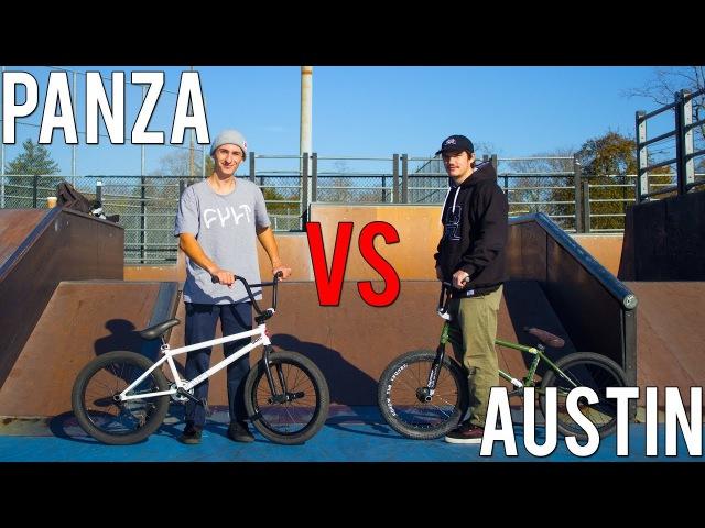 ANTHONY PANZA VS AUSTIN MAZUR GAME OF BIKE insidebmx