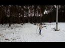 Первенство района по лыжным гонкам Открытие сезона финиш