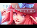 Speed Paint Commission Anri Paint tool sai Lulybot
