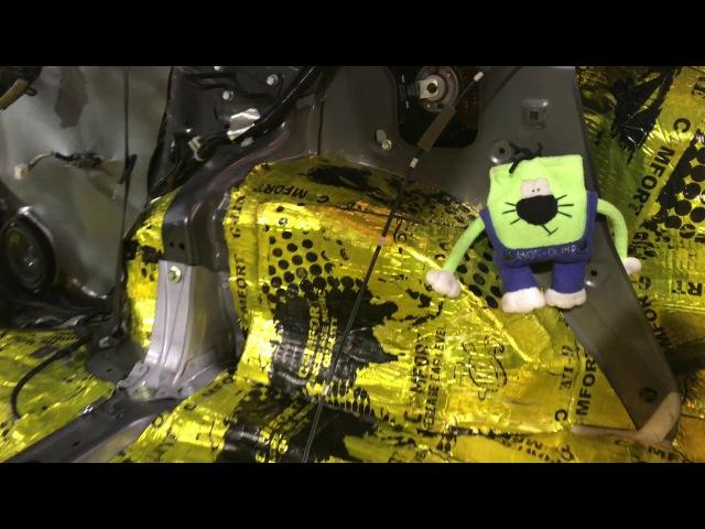Хонда СРВ шумоизоляция поможет этому автомобилю стать на ступеньку выше к новом...
