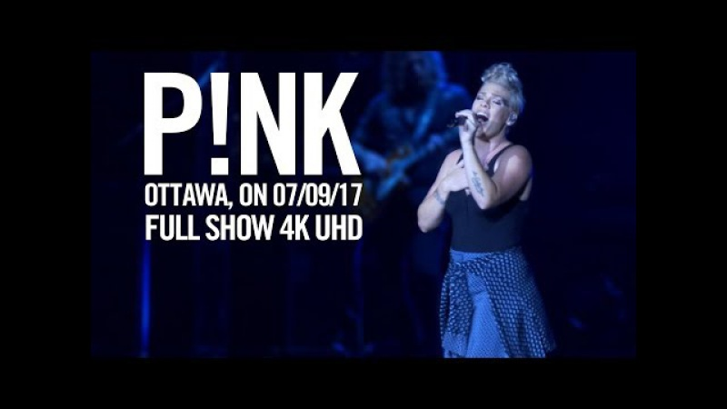 P!nk LIVE in Ottawa July 9, 2017   TheBootTube.com