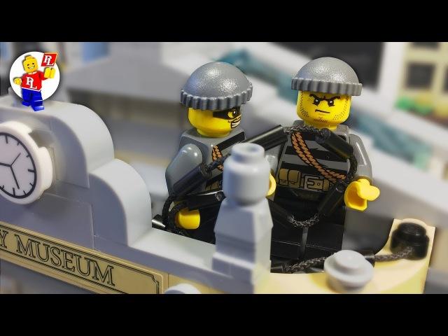 LEGO City Museum Robbery 🔴 Lego Brick film (HD)