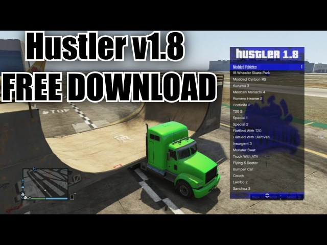 [PS3] GTA 5 Hustler v1.8 Mod Menu 1.27/1.28 [DOWNLOAD]