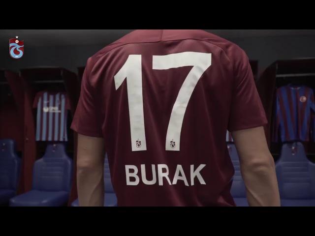 Trabzonspordan Burak Yılmaz tanıtım klibi