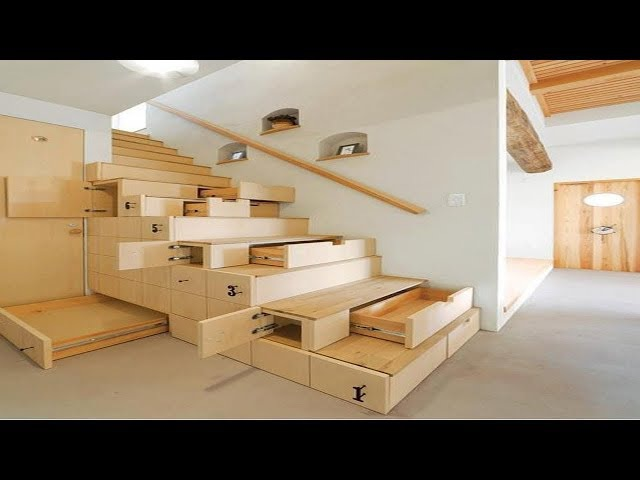 Increibles Ideas para Ahorrar Espacio - Muebles inteligentes
