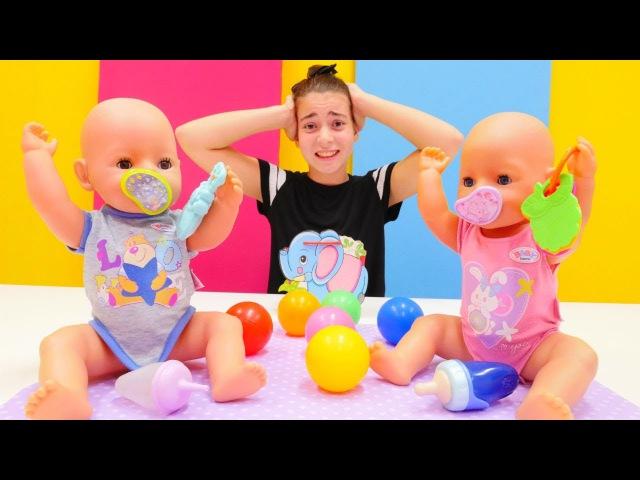 YENİ İKİZ bebek bakma oyunu 👶👶. Çevrimdışı oyuncak video izle! En popüler kızoyunları