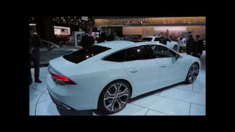 Самый крутой лифтбек – Audi A7 2018 Детройт 2018