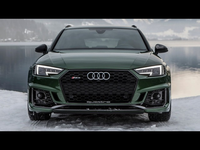 FINALLY! New 2018 AUDI RS4 (450hp/600Nm/BiTurbo) - TOOK OVER INSTAGRAM AGAIN - Sonoma green etc