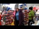 Сумашедшая бабка в магазине
