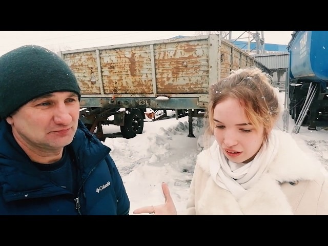 Видео отзыв покупателя бортового полуприцепа Василия