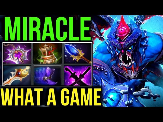 Miracle- Dota2 [Night Stalker] What a Crazy Game! Try Hard Roamer