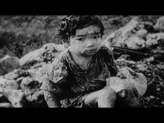 Атомный взрыв над Хиросимой 6 августа 1945 года Кадры из архива