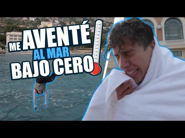 ¿Qué se siente nadar en aguas bajo cero? / Juanpa Zurita