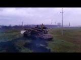 Славянск. Словили танк, и не дают прохода. 15 04 2014