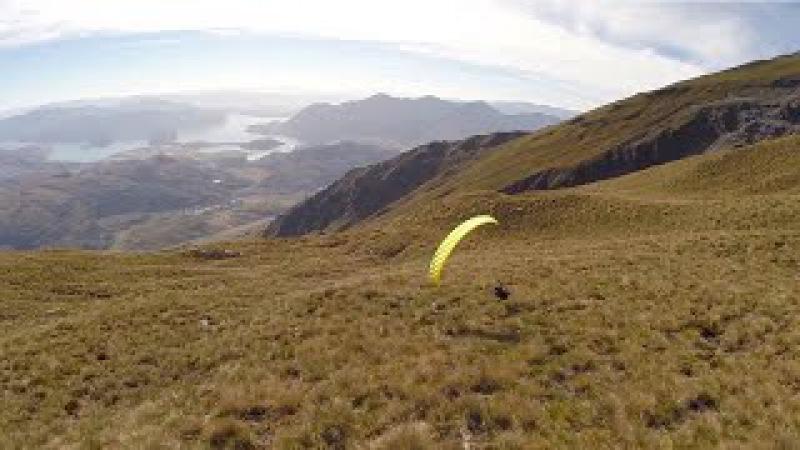 Skilful Speedflyer Skims Ground
