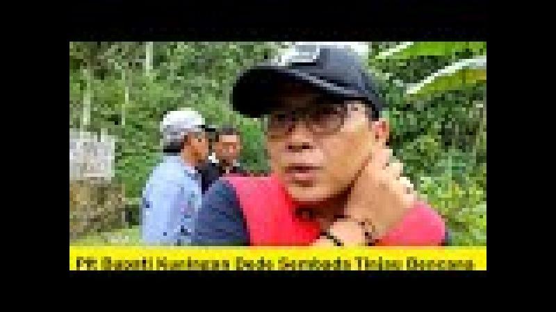 Bencana Alam di Agenda Kampanye Damai Kontan Bikin Plt Bupati Turba