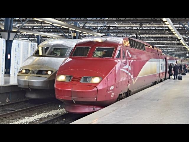 Trains Bruxelles-Midi ● 02.12.2017